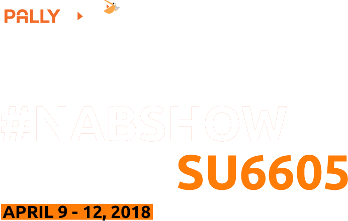 Meet us at NABShow booth SU6605