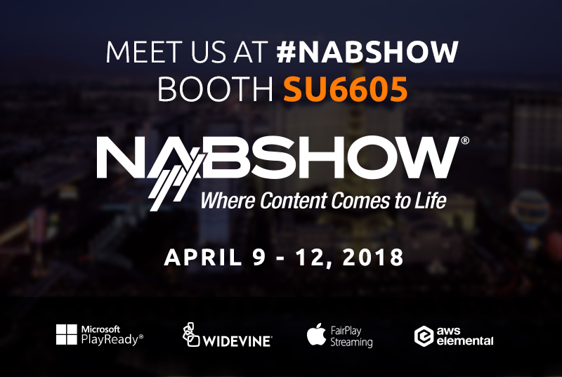 NABSHOW 2018, where content comes to life