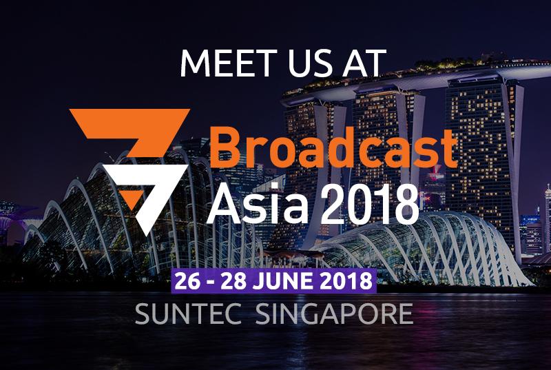 Broadcast Asia 2018, Suntec, Singapore