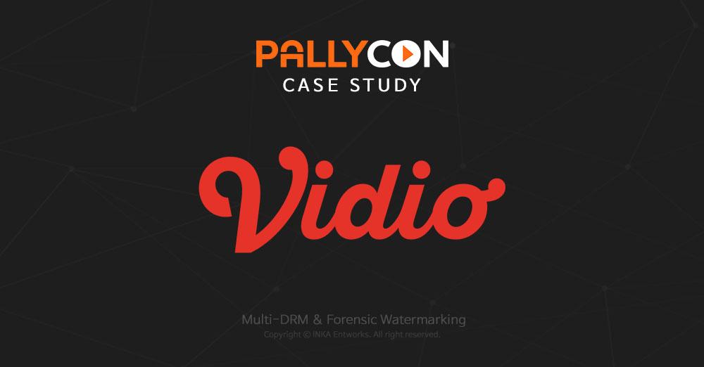PallyCon case study : vidio(KMK online)