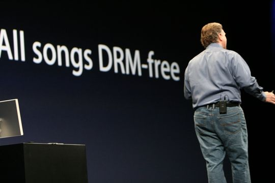 Apple' presentation about DRM-free MP3