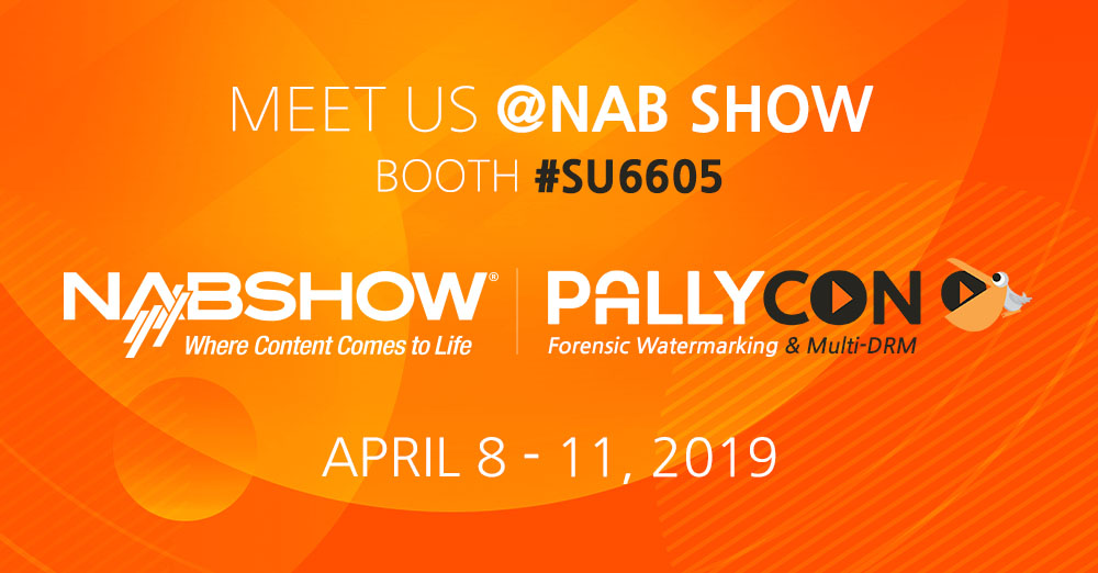 Meet PallyCon at NAB Show 2019