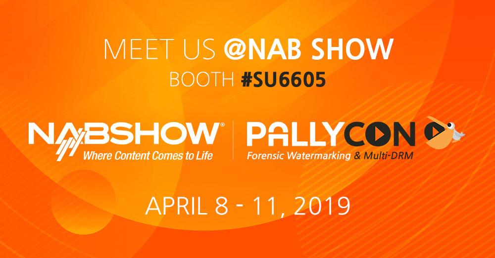 Meet PallyCon at NAB Show 2019