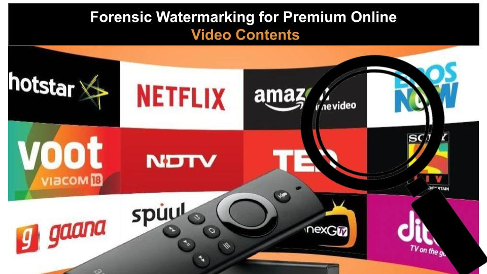 Forensic Watermarking for Video Content